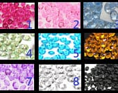10000PCS 4.5mm 1/3ct Centerpieces Vase Crystal Fillers Home Decor Wedding Party Faux Acrylic Diamond Confetti Table Scatters Decoration