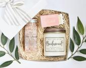 Bridesmaid Gift: Thank You for being my Bridesmaid, Bridesmaid Thank You, Bridesmaid Proposal, Wedding Party Gift, Gift for Bridesmaids, spa