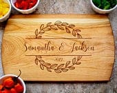 Personalized Charcuterie Board, Custom Cutting Board, Wedding Gift, Engagement Gift for Couple, Anniversary Gift for Parents, Wooden Tray