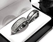 Meteorite Rings, Wedding Bands, His and Her Matching Rings Set, Mens Womens Matching Bands Set, Wedding Rings, Meteorite Tungsten Rings