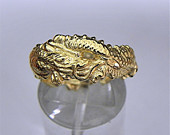 Dragon Ring 14K 18K 22K 24K and Platinum wedding ring. Hand carved Available in all sizes 4 15. Solid metat 7 to 11 grams