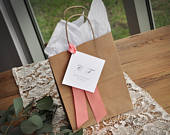 Wedding Guest Gift Bag for Hotel (Qty. 1). Guest Favor Bags. Wedding Favor Bag. Br8KFT.