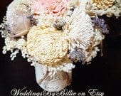 Wedding Table Centerpiece, Centerpiece Flowers, Wedding Reception, Aisle Flowers, Wedding Decor, Sola Flowers, Rustic Shabby Chic Wedding