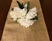 lace burlap runner, Wedding tables, ships in two days,table runner,wedding tables