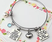 Mother of the groom gift Wedding gift for Mom From Son Today a Groom Tomorrow a Husband Forever Your Son Mother of Groom Wedding Bracelet