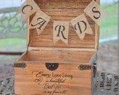 Every Love Story is Beautiful But Ours is My Favorite Card Box Rustic Wedding Decor Wedding Card Box Rustic Card Box Wedding Chest