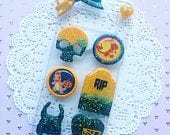 Spooky Charmander Layout, Decoden Phone Case, Whip Phone Case