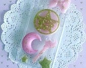 Sailor Moon Layout, Decoden Phone Case, Whip Phone Case