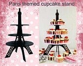 Eiffel Tower cupcake stand choose colorworlwide shipping