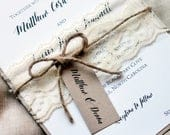 Deposit listing for 70 invitations with RSVP printing