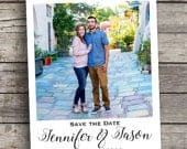 Wedding Save the Date Magnets Personalized Custom Photo 3.5 x 4.25 Size