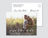 Printable OR Printed Photo Save the Date Postcards Photo Save our Date Postcards Save the Dates Postcards with Landscape Picture 0004
