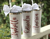 Personalized 22oz Stainless ROADIE Tumbler, Personalized Tumbler, Bridesmaid Proposal, Bridesmaid Gift, Wedding Favors, Personalized Cups