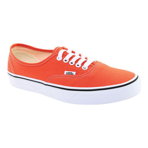Vans Authentic Sneaker, Size: 4 M, Emberglow/True White Canvas
