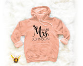Future Mrs Mrs Sweater Bride Shirt Wedding Gift Bride Gift Engagement Gift Bachelorette Party Bachelorette Bride Hoodie