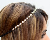 THE KATARAGem Crystal Gold Hair Chain Diamond Hair Jewelry Boho Festival Wedding Headpiece head chain Music Festival Spring Summer Headband