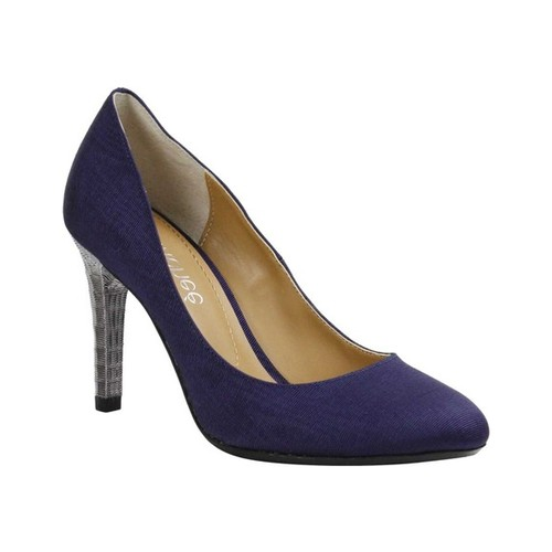 Women's J. Renee Gilana Pump, Size: 8.5 M, Navy Faille Fabric