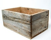 FARM RUSTIC wooden crates Wedding Centerpiece Flower Box Planter Box Storage