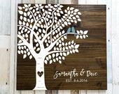 Leaf Guest Book, Guest Book Tree, Wedding Guest Book Alternative, Guest Book Alternative Tree, Wedding Guestbook, Wood Guest Book