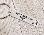 We love you 3000, I Love You 3000, Fathers Day, Avengers, Endgame, Ironman, Daddy, Iron Man, Husband, Father, avenger fan, 3000 keychain