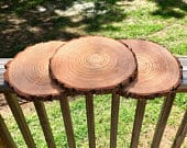 Set of 12 9 inch wood rounds, baby shower decor, wood slices wedding centerpieces, wood slice decor, arts and crafts, rustic baby shower!