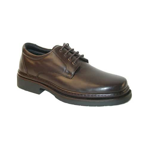Men's Giorgio Brutini Ainsworth Sheepskin Oxford 24557, Size: 6 M, Brown