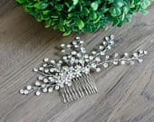 Bridal hair piece Wedding hair piece Bridal hair comb Wedding hair comb Bridal headband Wedding headpiece Crystal Bridal hair piece