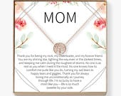 Mom Necklace: Mother Necklace, Mom Gift, Mothers Day Gift, Mothers Day Necklace, Mother Daughter Gift, Tree