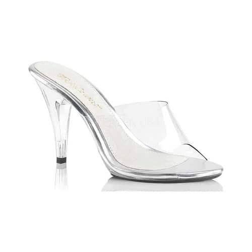 Women's Fabulicious Caress 401, Size: 10 M, Clear/Clear