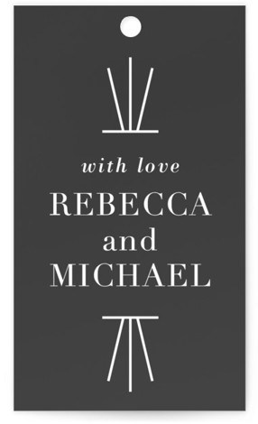 Mingle Wedding Favor Tags