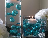 Turquoise Blue Jumbo Pearls/Table Confetti mix sizes 5678910141814182430 For Wedding Home Decors