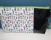 Disney Chibi Villains Makeup Bag Ursula, Hades, Capt. Hook, Oogie Boogie, Cruella de Vil, Maleficent, Poison apple, Gaston