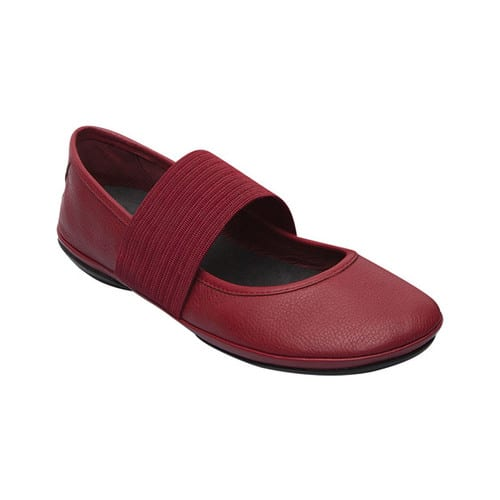 Women's Camper Right Nina Mary Jane, Size: 36 M, Medium Red Smooth Leather