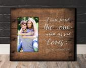 Wedding Gift, Wall Decor, Home Decor, Gift for Her, Gift for Mom, Anniversary Gift, Personalized Picture Frame, Personalized Frame