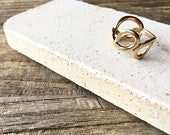 Brass statement ring love knot ring forget knot ring friendship ring pretzel ring size 6 ring infinity knot ring