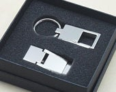 Personalized Money Clip and Keyring Set