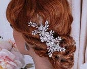 Bridal Headpiece Hair Comb Bride Party Crystal Jewelry Brides Wedding Party Accessories Prom Head Piece Hairpiece Gift Weddings Accessory