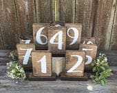 Numbers, rustic wedding table numbers wedding table number rustic wedding wood table number country wedding sign barn wedding rustic