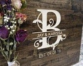CARVED Wedding Guest Book Alternative, Wood Guestbook, Personalized Guestbook, Wood Sign, Wedding Gift, Rustic Guestbook, Country Guestbook