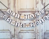 Save The Date Banner, Wedding banner, Save The Date Sign, Wedding Banner, Wedding Garland, weddings, Bridal shower, engagement banner,
