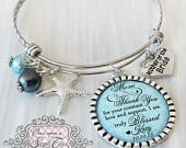 BEACH WEDDING Beach Jewelry Mother of the Bride Bracelet Beach Bridal Jewelry Gift from Bride Wedding Gifts for Mother in law