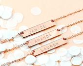 Maid Of Honor Gift Custom Coordinates Necklaces Mother Of The Bride Gift Custom Jewelry Wedding Gift Bride Gift 4N