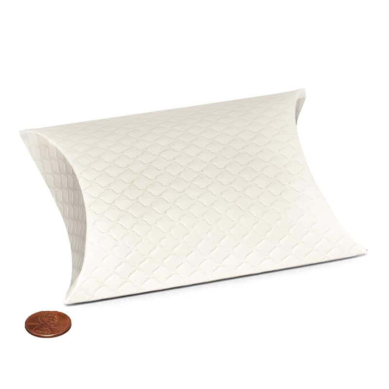 """Wedding Favor Boxes 20 ct. Cardboard Height/Depth: 4 1/4"""" by Paper Mart"""