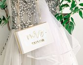 Mrs Purse Bride Clutch Purse for Wedding Bridal Clutch Custom Gift for Bride to Be Personalized Wedding Gift for Bride (EB3338MRS)