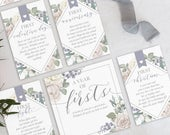 A Year of Firsts Wine Basket Milestone Tags INSTANT DOWNLOAD Lilac (for 12 bottle basket) Wedding Gift, Bridal Shower Gift