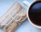 Reserved // Coffee Wedding Favors. Autumn Weddings Gifts. Johnny Cash Quote, Set of 100