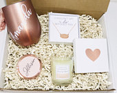 BRIDESMAID PROPOSAL BOX Bridesmaid gift box Bridesmaid gift Bridesmaid gift box Bridal party gift boxes Gifts for her Wedding party gift set