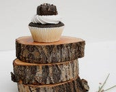 wood slices, willow slice, thick willow slice, wedding centerpieces, wood centerpiece, wood riser, wood slab