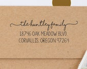 ADDRESS STAMP Return Address Stamp, Self Inking CUSTOM Stamp Address Personalized Address Stamp Invitation Wedding address Stamp, stamp