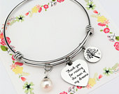 Thank you for raising the Man of my Dreams Bracelet Gift for Mother of the Groom Gift From Bride Wedding Bracelet Gift for Mother in law